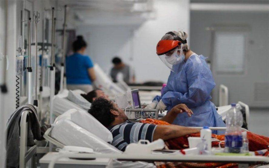 Sin techo: confirman 41 mil casos de covid y 551 fallecidos