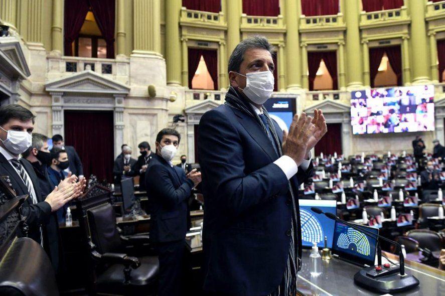 Massa recibe al congreso latinoamericano anti terrorismo