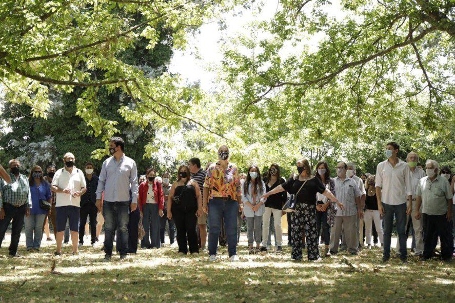 El acto de la UCR de Mar del Plata para respaldar a Maxi Abad.