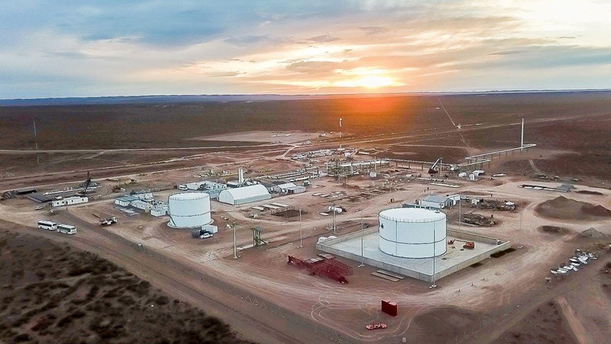 Asistencia a subdistribuidoras de gas. Foto: Télam.