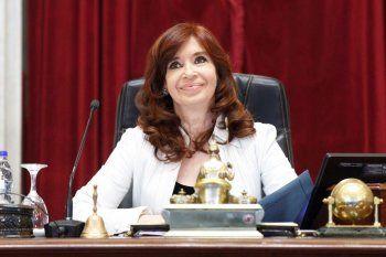 Cristina Fernández dejó un mensaje al Instituto Patria