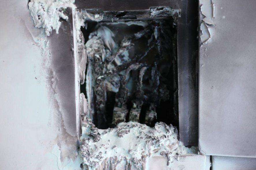 La Plata: explotó tablero eléctrico de un edificio, están sin luz ni agua