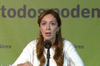María Eugenia Vidal, en el centro de la escena