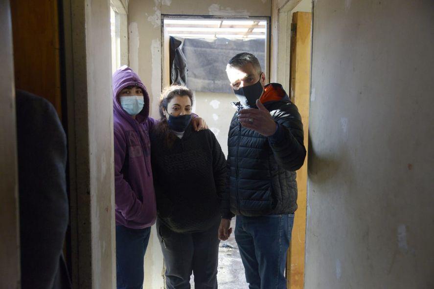 Saladillo: Nación ayuda a los afectados por el temporal