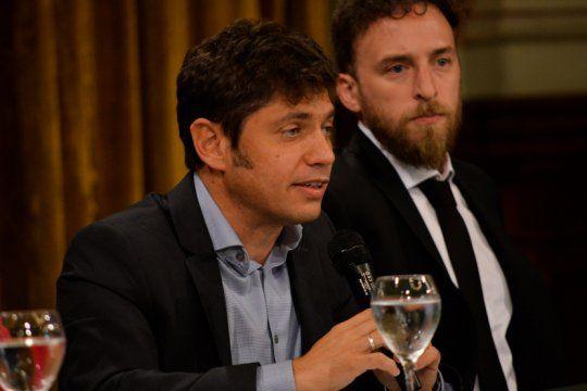 El gobernador Axel Kicillof relanzó los Fondos de Infraestructura Municipal, una política que comenzó la gestión de María Eugenia Vidal