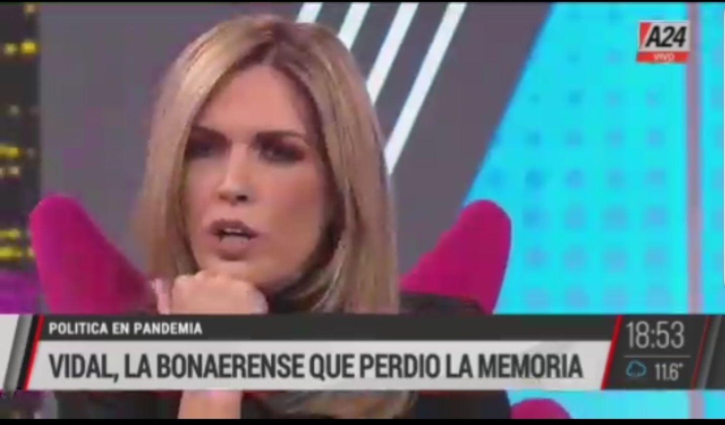 Viviana Canosa embistió contra María Eugenia Vidal y emitió el video prohibido que deja a la ex gobernadora como traicionera de su electorado bonaerense