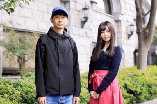 Shoji Morimoto el japonés cuyo trabajo es no hacer nada. Aquí en plena tarea