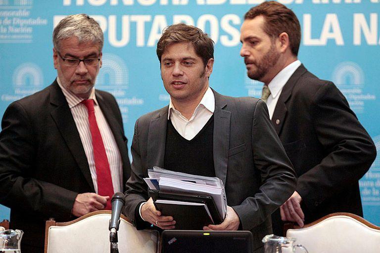 Axel Kicillof, acompañado del ministro Augusto Costa, se reencontrará con Roberto Feletti