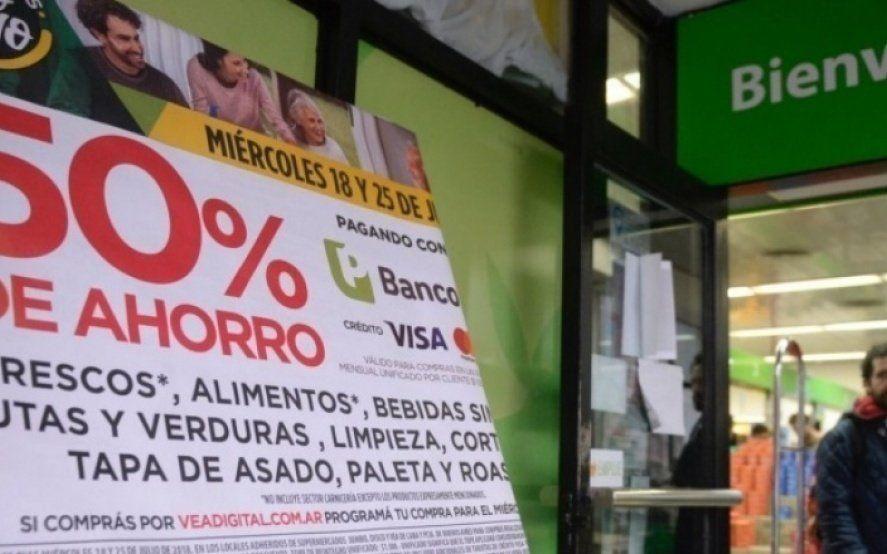 """Comenzó otro """"supermiércoles de descuento"""" para clientes del Banco Provincia"""