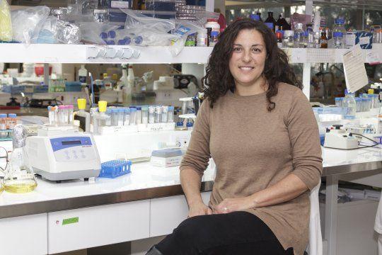 Lucía Chemes es investigadora de Conicet y de la Universidad de San Martín (Foto: Agencia CyTA-Leloir)