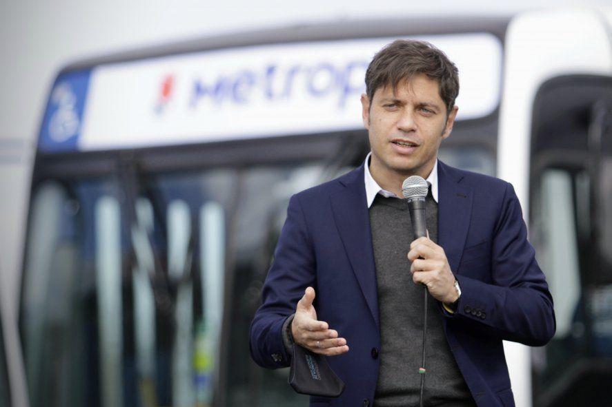 Axel Kicillof acusó a Vidal de discriminación