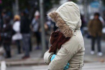 Bajo cero: el frío parece haber llegado para quedarse en la Provincia.