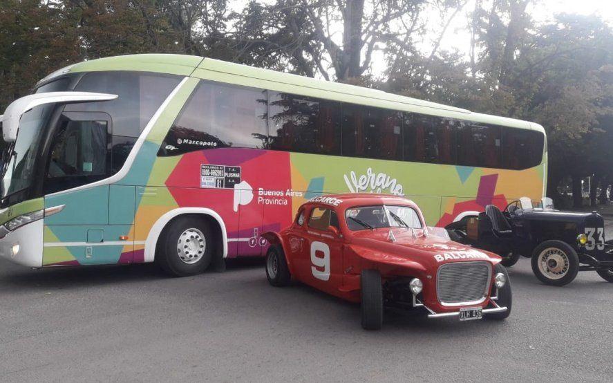 El Bus Turístico Itinerante sigue su gira por la Provincia y llega a Mar Chiquita
