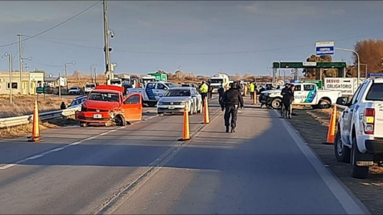 El tiroteo fue entre Carmen de Patagones y Pedro Luro