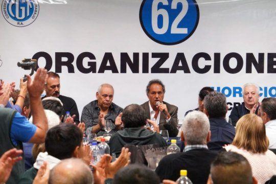 en busca de apoyos: scioli se reunio con las 62 organizaciones justicialistas