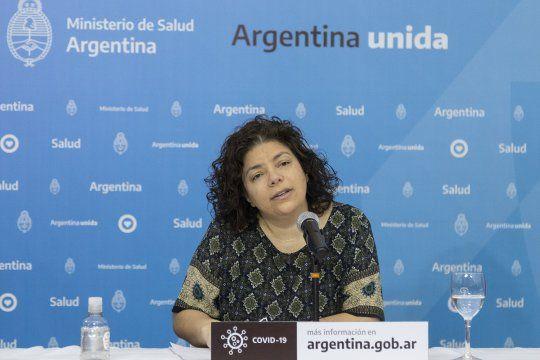 Vizzotti encabeza la comitiva argentina en Moscú para obtener más detalles de la vacuna rusa