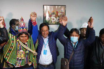 CFK y Alberto Fernández celebraron el retorno de la democracia en Bolivia