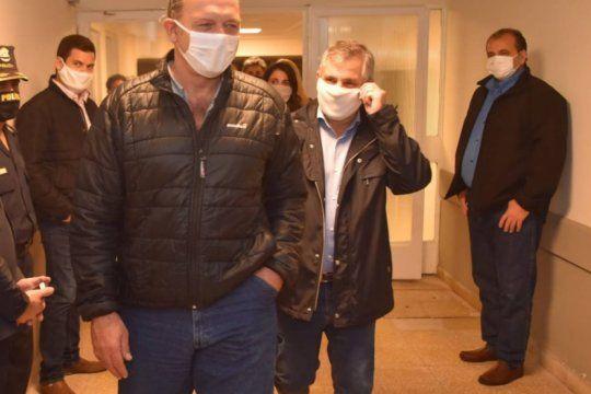 sergio berni volvio a aparecer de sorpresa en zarate y apunto contra el intendente: es una verguenza