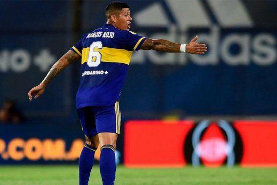 Marcos Rojo en Boca, después de rechazar la oferta de Estudiantes