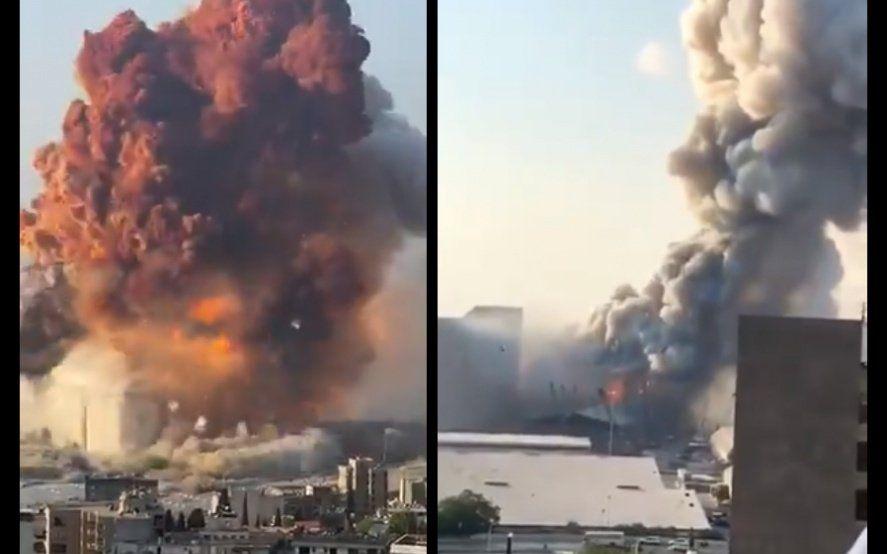 Explosión en Beirut: por qué se descarta que haya sido por pirotecnia