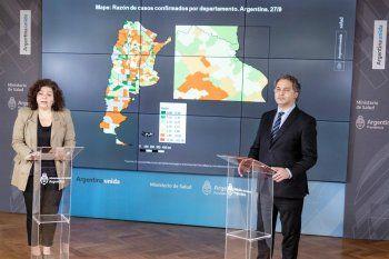 El coronavirus comenzó en el Área Metropolitana de Buenos Aires, pero ya se extendió por todo el país.