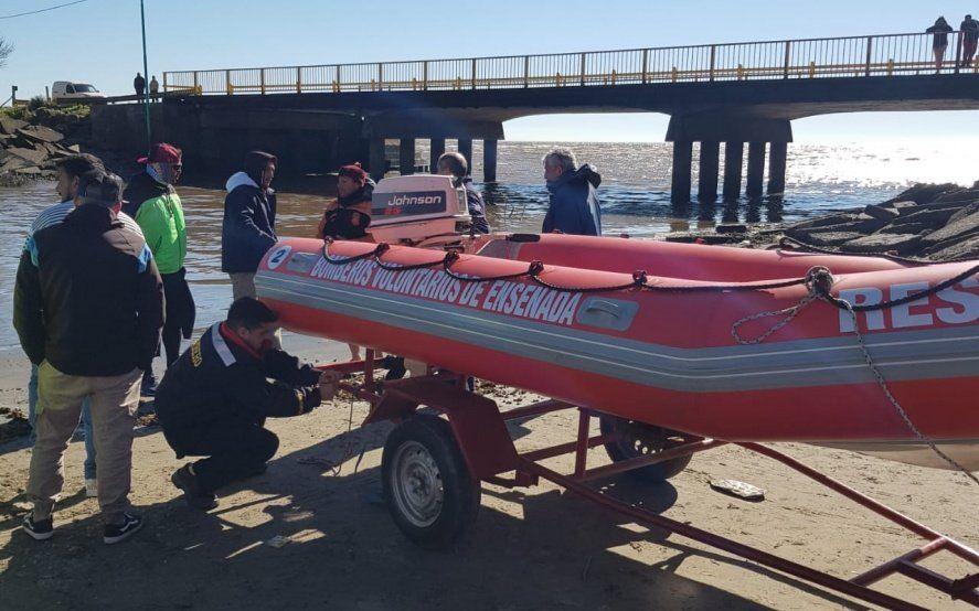 Pasaron diez días y no se sabe nada de los dos pescadores desaparecidos en Punta Lara