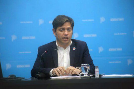 Axel Kicillof dijo estar seguro de revertir los resultados de las PASO