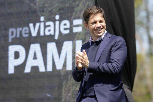 Axel Kicillof destacó el avance de la campaña de vacunación en jubilados.