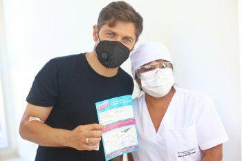"""Kicillof defendió vacunación de voluntarios: fue para """"proteger a todo el sistema"""""""