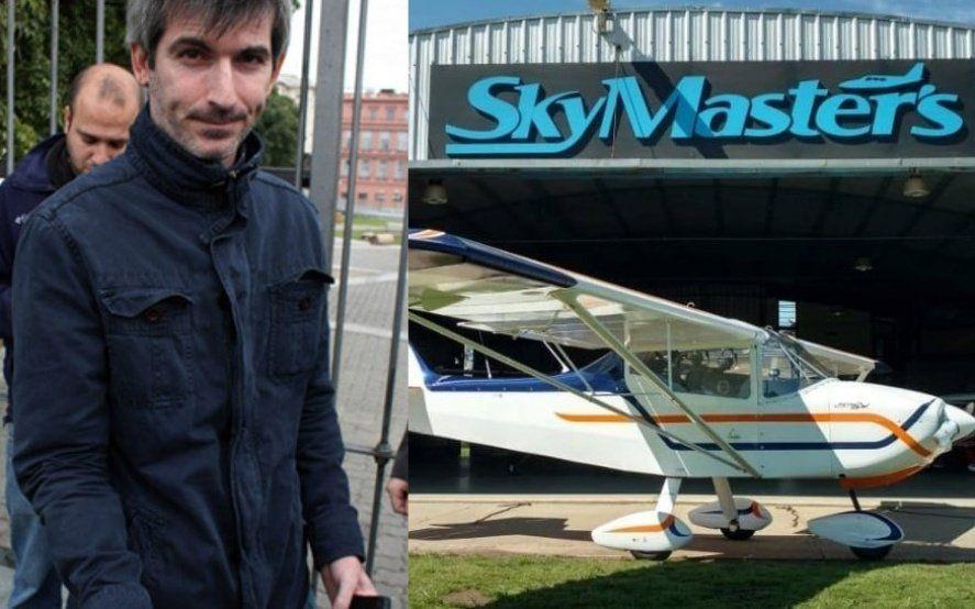 El polémico titular de la ANAC piloteaba una avioneta, se estrelló y quedó en el ojo de la tormenta