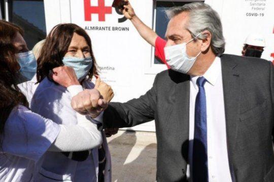 El presidente Alberto Fernández presentará los primeros 5 de los 19 hospitales modulares que se están construyendo en ciudades turísticas