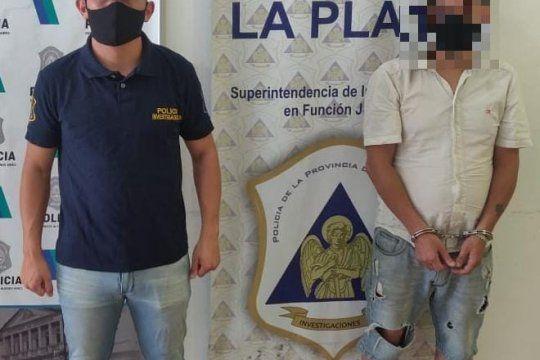 El presunto depravado, de 42 años, cayó en el barrio La Loma