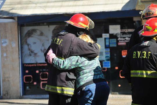 muerte de bomberos: el reclamo de uno de los hijos