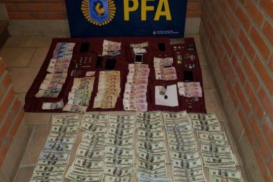 secuestraron 16 mil dolares, celulares y droga en una fiesta electronica de bahia blanca