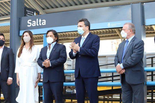 Sergio Masa se acercó a Sáenz y avanza con la ampliación del Frente de Todos.