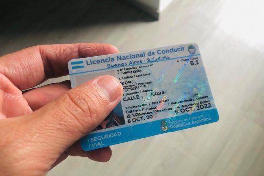 Prórroga para vencimiento de licencias de conducir.