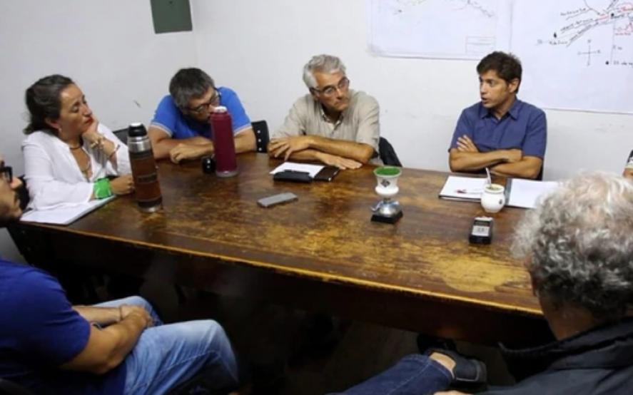 La visita de Kicillof en Bragado abrió una grieta en la Sociedad Rural bonaerense