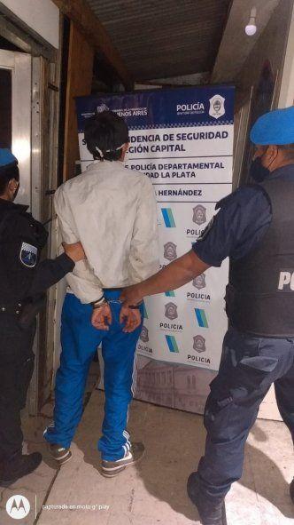 El joven fue detenido en la localidad de José Hernández