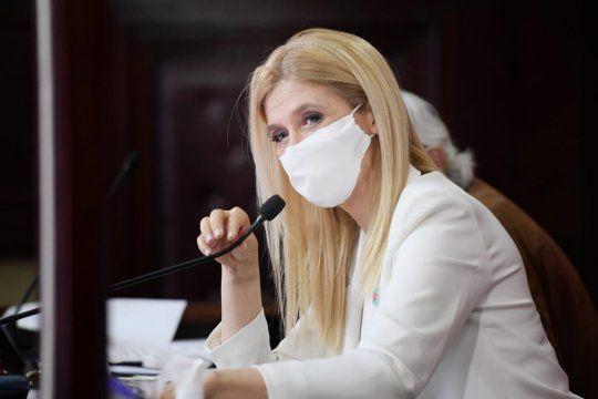 La Vicegobernadora Magario también dejó su lugar, en protesta porque la Oposición impuso su número para votar los pliegos judiciales de Vidal.
