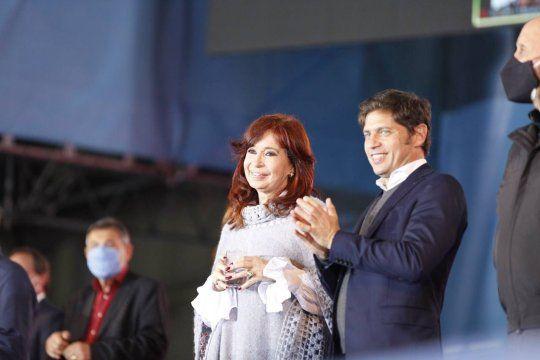 La vicepresidenta Cristina Kirchner defendió al gobernador Axel Kicillof.