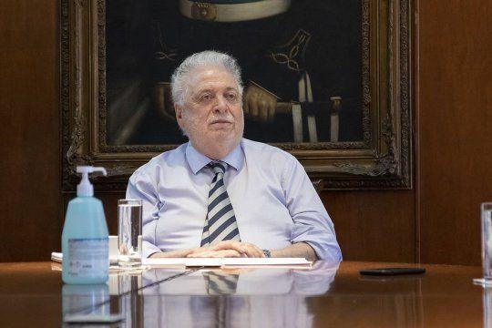 El Ministerio de Salud que encabeza Ginés González García difundió un nuevo parte sobre el coronavirus.