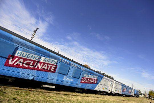 provincia: celebran la mistica del tren sanitario