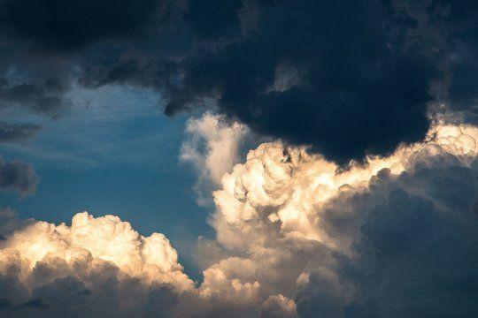 El pronóstico del SMN anunció un fin de semana con lluvias o abundante nubosidad en la Provincia.