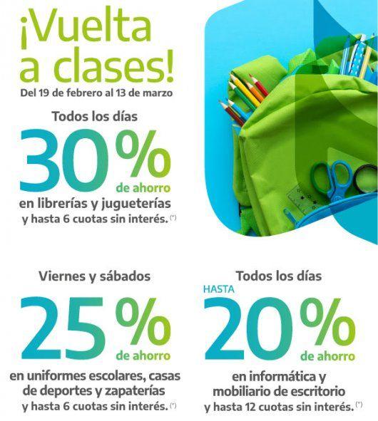 Banco Provincia lanzó descuentos y cuotas sin interés en librerías, jugueterías y más rubros