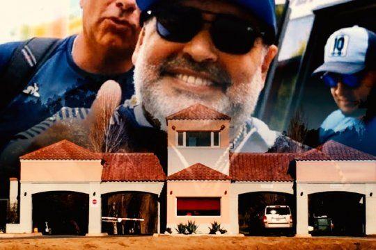 La casa de Maradona en Brandsen por dentro