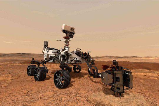 en vivo: la nasa llega a marte con el rover perseverance