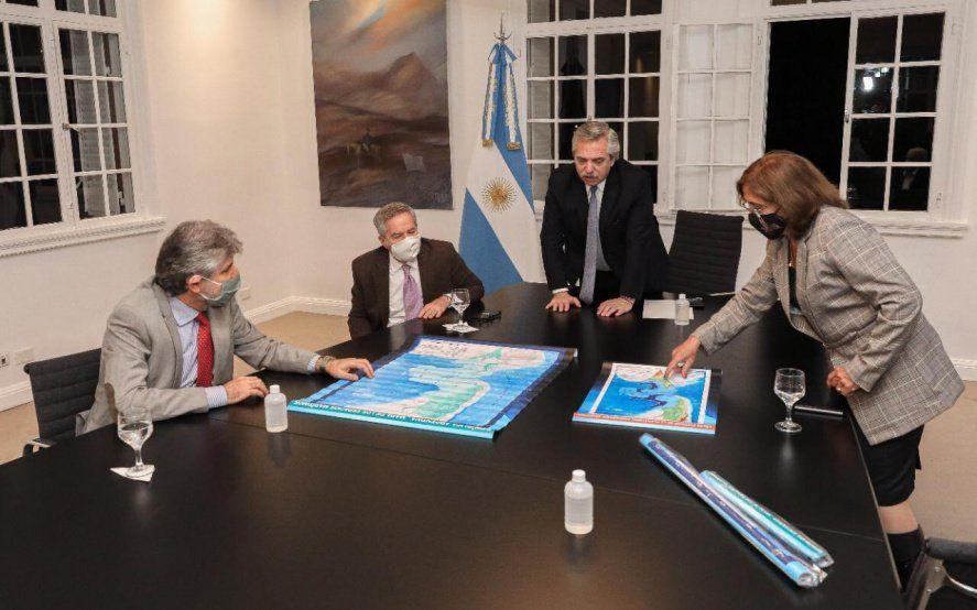 Alberto Fernández destacó los planes de soberanía con las nuevas leyes sobre Malvinas