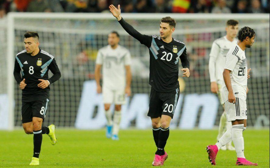 Mirá los goles: Argentina ajustó las piezas y empató con Alemania 2 a 2