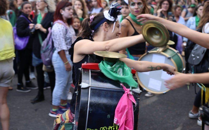 34º ENM en La Plata: estas son las bandas que tocarán en la Peña del Encuentro Feminista