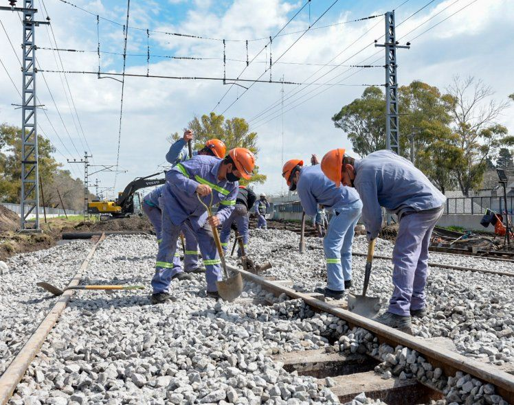 El tren Roca prestará servicio limitado por obras de renovación de vías
